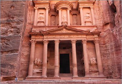Petra the treasury