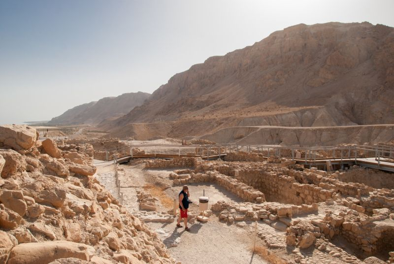 Masada, Ein Gedi Nature Reserve and View of Qumran Tour