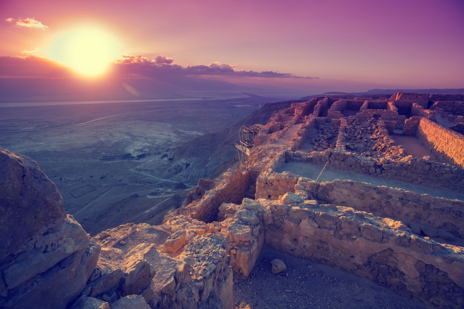 Masada Sunrise ,Ein Gedi And Dead Sea Tour from Jerusalem $65