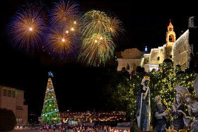 Christmas Eve 2020 in Jerusalem and Bethlehem Midnight Mass include Dinner $99
