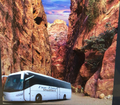 One Way transfer Daily Bus to Petra From Tel Aviv,Jerusalem Only $49.00