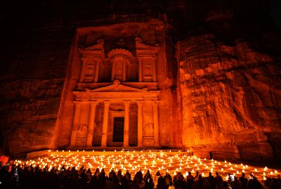 Petra by Night: A Magical Experience - 2 Days Tour From Tel Aviv and Jerusalem
