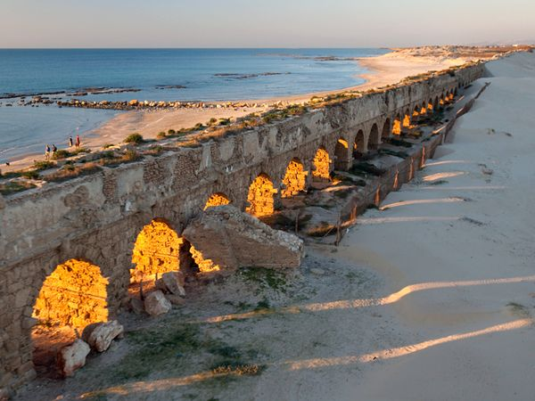 Caesarea, Haifa, Acre and Rosh Hanikra Tour